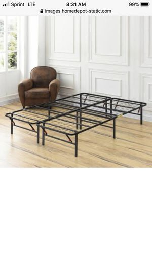 Full metal bed frame for Sale in Cleveland, OH