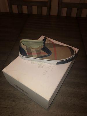 Burberry kids shoe for Sale in Adelanto, CA