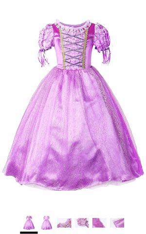 Rapunzel dress size 12-14 Almost New for Sale in Arcadia, CA