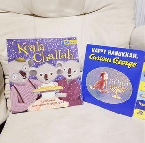 Hanukkah & Challah books for children for Sale in Lynnwood, WA