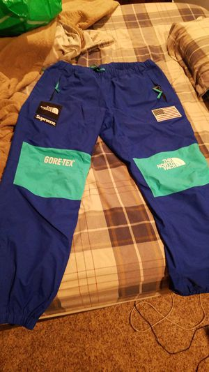 Supreme x The North Face Trans Antarctica Expedition Pants Royal SS17 for Sale in Federal Way, WA