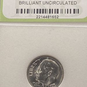 2002-P Roosevelt Dime Brilliant Uncirculated DDO DDR ERRORS for Sale in Plainfield, IL