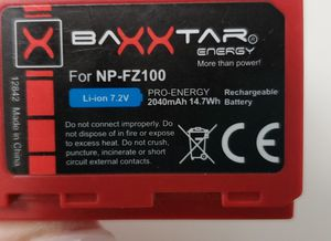 2 np fz100 batteries for Sale in Miami, FL