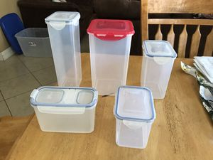 Variety Lock and Lock Storage Containers, All for $10 for Sale in Fontana, CA