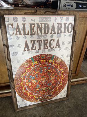 AZTEC CALENDAR FRAME for Sale in Inglewood, CA