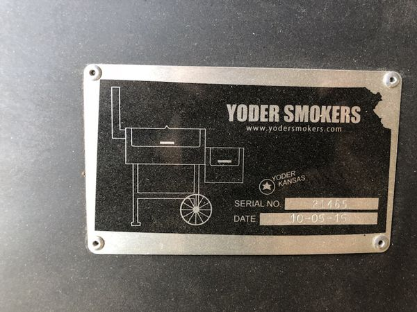 Yoder Smokers YS640 Pellet Grill on Competition Cart & Extras for Sale in  Mesa, AZ - OfferUp