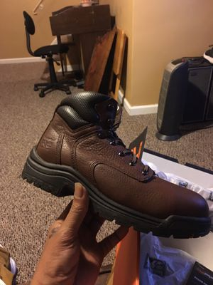 Timberlands pro steel toe work boots size 7 1/2 man for Sale in King of Prussia, PA