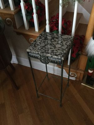 Small metal and granite table for Sale in High Point, NC