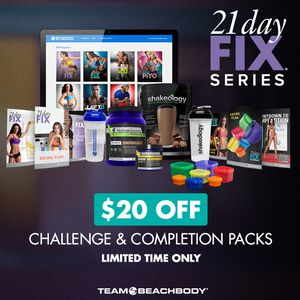 21 day fix challenge pack for Sale in Chicago, IL