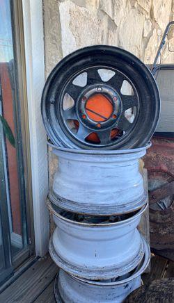 6 lug Chevy rims for Sale in San Antonio,  TX