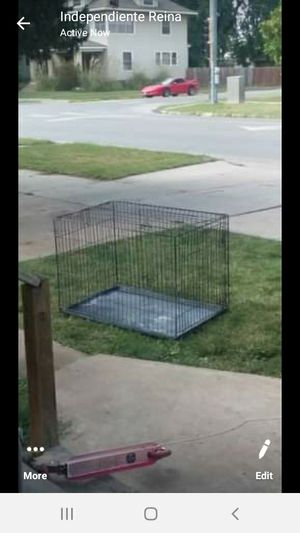 Large dog kennel for Sale in Hutchinson, KS