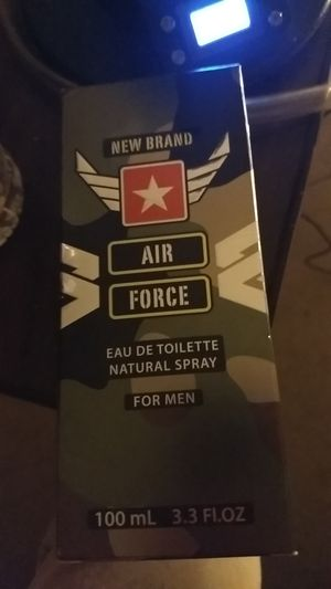 New Brand Air Force eau de toilette natural spray for men for Sale in Chicago, IL
