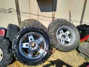 5 rims and tires for Sale in Odessa, TX