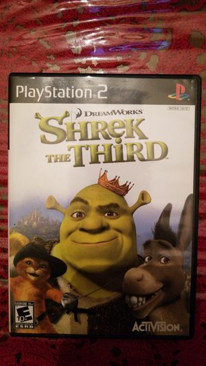Shrek the Third (PlyStation 2) for Sale in Garland, TX