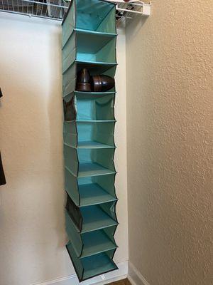 Hanging Shoe Shelves - 10 Section - Closet Organizer for Sale in Miramar, FL