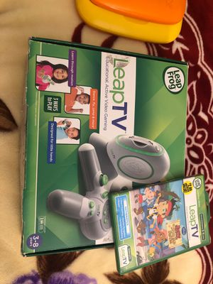 Leap TV games console with so many kids games for Sale in Aliso Viejo, CA