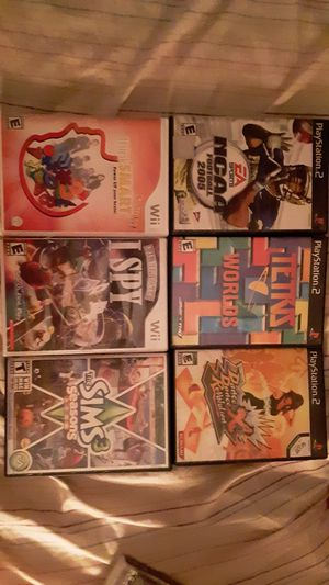 Various video games for Sale in Amarillo, TX