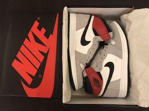 Nike Air Jordan 1 Retro High OG Smoke Grey Red. Size 10 for Sale in Miami, FL