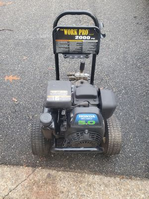 Honda gas power washer 2000psi for Sale in Melrose, MA