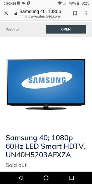 Samsung tv for Sale in Byrnes Mill, MO