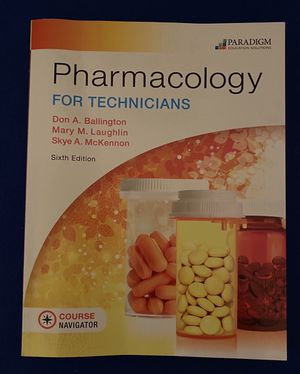 Pharmacology For Technicians , 795 pages for Sale in San Antonio, TX