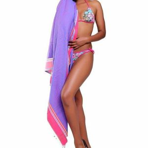Purple Sarong Beach Wrap cotton African kikoy for Sale in GRANT VLKRIA, FL