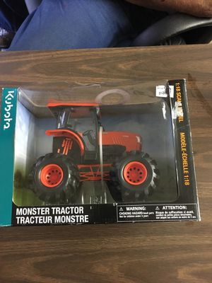This is a brand new monster tractor Kabota. It has never been out-of-the-box. for Sale in Lampasas, TX