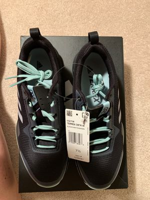 NEW with tags and box women's size 7-1/2 Adidas Terrex running shoes for Sale in Alexandria, VA