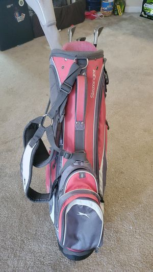 Golf bag and some clubs for Sale in Annapolis, MD