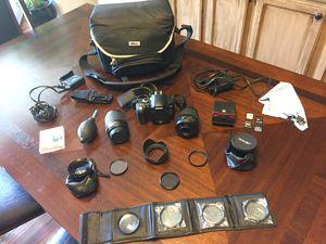 Nikon D40 Camera Bundle with Lenses for Sale in Jacksonville, FL