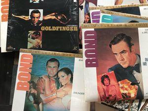 Laser Disc set of 15 James Bond Titles for Sale in Wenatchee, WA