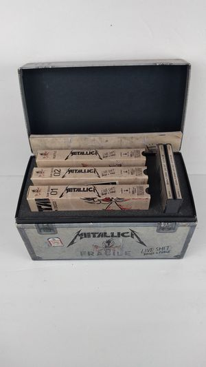 Metallica Live Binge and Purge VHS & CD Box Set for Sale in North Haven, CT