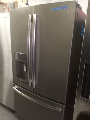 NEW SCRATCH AND DENT GE FRENCH DOORS FRIDGE 36IN WORKING PERFECT WITH WARRANTY for Sale in Baltimore, MD