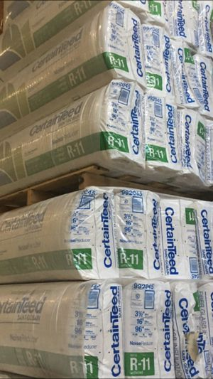 R-11 SOUND PROOFING WALL INSULATION $80 each at DEPOT for Sale in Bellevue, WA