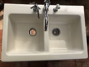 Kohler Top-Mount double-equal bowl Kitchen Sink for Sale in Hollywood, FL