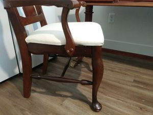 More pics of desk and chair both are a set unless you want the chair only for Sale in Salt Lake City, UT