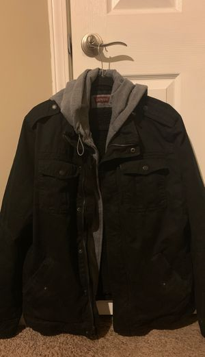 Very nice Men's Levis Jacket/Hoody Size Large *Brand new* for Sale in Marietta, GA