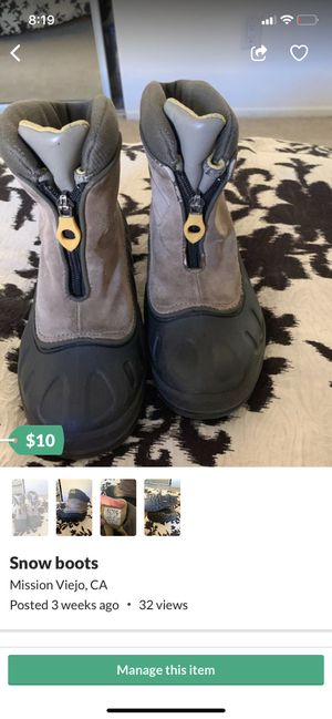 Snow boots for Sale in Mission Viejo, CA