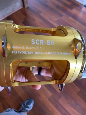 SCR80 Deep Sea Fishing Reel for Sale in Ramona, CA
