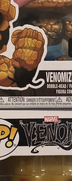 Venomized Thing And Human Torch Chase for Sale in Deer Park,  TX
