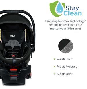 New in box Britax B-Safe Ultra Infant Car Seat - Rear Facing | 4 to 35 Pounds - Reclinable Base, 2 Layer Impact Protection | Nanotex Technology, Stay for Sale in Peoria, AZ