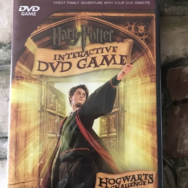 "Harry Potter Interactive DVD Game: Hogwarts Challenge (DVD, 2007) sealed. Condition is ""Brand New"