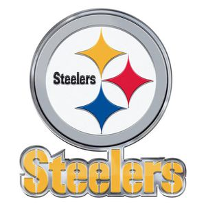 Pittsburgh Steelers Alternative Logo Color Emblem for Sale in Pittsburgh, PA