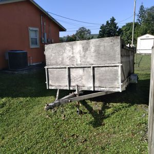 Trailer With Ramp Gate for Sale in Port St. Lucie, FL