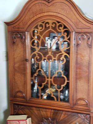 Antique cabinet over 100 years old from italy for Sale in Troy, MI