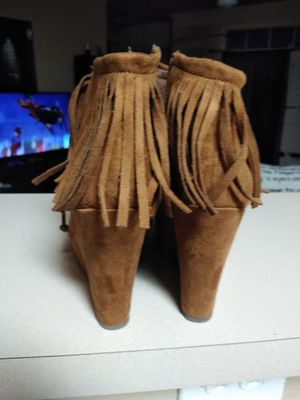 Wedges with fringes for Sale in McDonough, GA