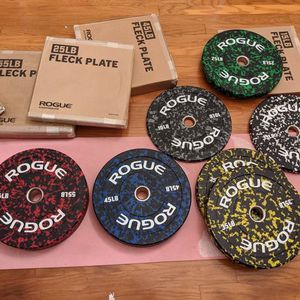Rogue Bumper Plates Set for Sale in Fort Myers, FL