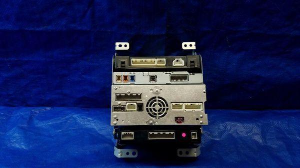 14-15 INFINITI Q50 RADIO RECEIVER W/ AMPLIFIER TEMPERATURE CONTROL MODULE #35628