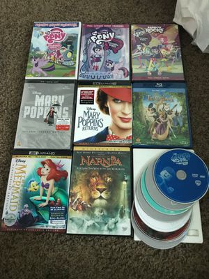 Lot of kids movies Disney movies for Sale in Costa Mesa, CA