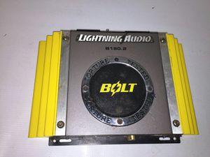 Lightning audio bolt 500 watt amp for Sale in Ballinger, TX